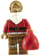 BNIB Lego Star Wars 2015 SANTA C-3PO Mini Figure 75097 Christmas C3PO Minifigure