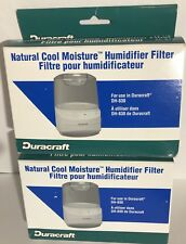 Set of 2 Duracraft Natural Cool Moisture Humidifier Filters Ac-813 - New