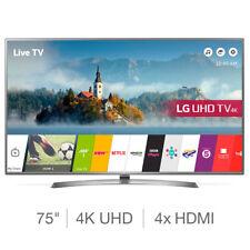 LG 75UJ675V 75 Inch Ultra HD 4K Smart TV - With 5 Years Warranty Telly BNIB