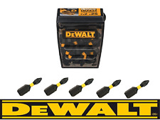DeWALT PZ2 Extreme Impact Torsion Pozi 2 Screwdriver Bits 25mm x 5 fits makita