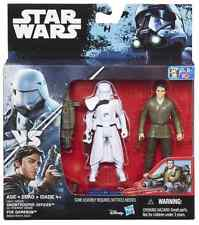 STAR WARS ROGUE ONE SNOWTROOPER OFFICER & POE DAMERON 2-PACK