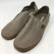 OluKai MAKANI TAN MESH TEXTILE  CASUAL LOAFERS Shoes MEN'S USA 9.5 EUR 42.5