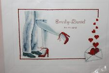 FOREVER Wedding Record cross stitch kit VERVACO First Dance NIP