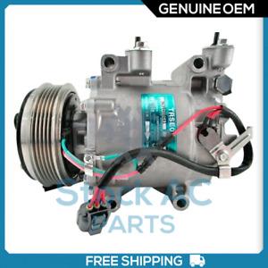 New OEM A/C Compressor for HONDA FIT 1.5L - 2006 to 2008 - OE# 38810RMEA02