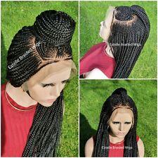 Braided Lace Wig, Fulani Braids Wig, Cornrows Braids, Box Braids, Braids Wig.