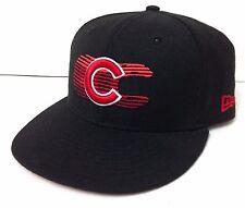 wool CHICAGO CUBS HAT Bulls Blackhawk Colors Black Red New Era SIZE 7-3 7524ed0c32a1