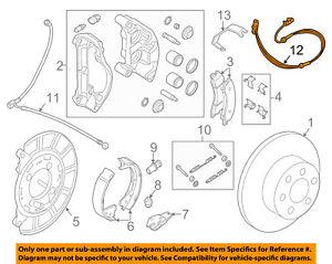 NISSAN OEM 12-15 NV3500 ABS Anti-lock Brakes-Rear Speed Sensor 479001PA0A