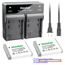 Kastar Battery Rapid Charger for Canon NB-6L 6LH CB2LY Canon PowerShot SX240 HS