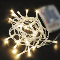 10/20/30//80 LED Battery Operated Fairy String Light Xmas Tree Party Wedding Dec