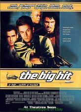 THE BIG HIT MOVIE POSTER Original DS  27x40 MARK WAHLBERG  ANTONIO SABATO JR