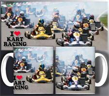 tazza mug karting LOVE KART RACING sport race scodella ceramica