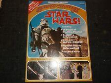 Vintage SCI-FI POSTER and Magazine SCIENCE FANTASY FILM CLASSICS 1977 Vol1 #1