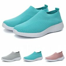 Fashion Womens Breathable Outdoor Sneakers Shoes Running Jogging Sock Sports B