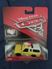 Disney Pixar Cars 3 diecast PIZZA PLANET TODD Brand New Toy Story RaRe