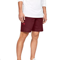Under Armour UA HeatGear Mens Vanish Woven Dark Red Sports Training Shorts L