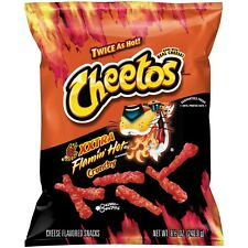 NEW SEALED TWICE AS HOT CHEETOS XXTRA FLAMIN HOT CRUNCHY CHIPS 8.5 OZ FREE SHIP