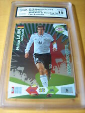 PHILIPP LAHM 2014 ADRENALYN XL ROAD TO WORLD CUP FANS' FAVOURITE FOIL GRADED 10