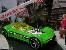 2013/2014 CITY WORKS Design Ex BALLISTIK∞Green;TAXI, Cab Co∞ LOOSE∞Hot Wheels