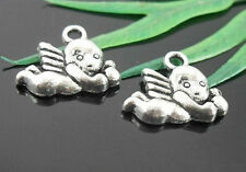 Free Ship 20 Pcs Tibetan Silver  Angell Charms 16x13mm