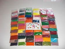 lot de 20 sachets de 5 G  colorant aromatisé sucre barbe à papa/yaourts PRO