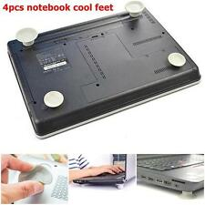 4PCS New Skidproof Notebook Antiskid Cooling Laptop Ball Cool Feet Leg Stand #