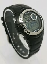 JAGA Digital Black Plastic Strap Unisex Watch M876-OEEB A2
