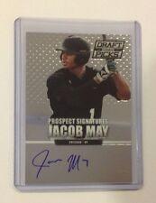 JACOB MAY #51 White Sox Rookie RC Auto 2013 Panini Prizm Perennial Draft Picks