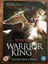 Tony Jaa THE WARRIOR KING 2 ~ 2013 Thai Martial Arts Sequel UK DVD w/ Slipcover