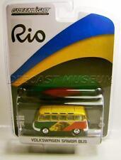 1967 '67 VOLKSWAGEN VW SAMBA BUS VAN MEXICO RIO OLYMPICS GOLD CHASE CAR  2016