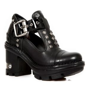 NEWROCK NR M.NEOTYRE02 S2 Black - New Rock Boots - Womens