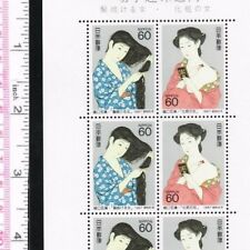 "C1183-4, ""Philatelic Week 1987"", Goyo Hashiguchi Japanese Painting,Japan Stamp"
