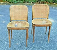 Salvatore Leone Cane Bentwood Thonet Parlor Dining Side Chair ltaly as-is?