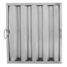 "20"" x 20"" x 2"" Stainless Steel Hood Filter 407Hf2020"
