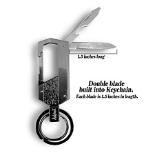 Multi-functional Key Chain Bottle Opener Mini Pocket Knife FATHERS DAY GIFT