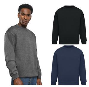 Mens CZ Sweatshirt Jumper Fleece Top Pullover Crew Neck Work Jersey Cardigan e
