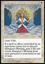 4x Benedizione di Mangara - Mangara 's Blessing MTG MAGIC Mi Eng/Ita EXC-NM