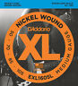 D'ADDARIO EXL160SL NICKEL BASS STRINGS, MEDIUM 4's, SUPER LONG SCALE - 50-105