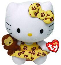 Peluche Hello Kitty con Mono - Original de la Marca Ty Sanrio Juguete Niños Kity