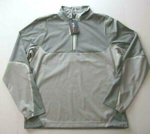 RLX Ralph Lauren Water-Repellent Active Golf Jacket Men Medium Museum Grey $148