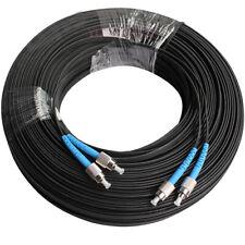 1000M Outdoor FC SM Duplex FTTH Drop Patch Cord FC G657 Fiber Optic Cable Jumper