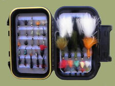 Early Season Trout flies 40 per box, still water Goldhead Nymph and Lures, Boxed