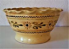 schönes Keramik Sieb, Schale Salatsieb, Obstschale, Erdbeerschale, Sammlerstück