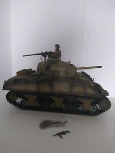 1/18 scale  21rst Century Toys die cast metal WWII US M4A3 Sherman Tank