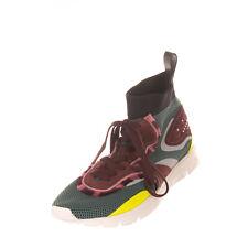 RRP €735 VALENTINO GARAVANI Sock Like Sneakers EU 44 UK 10 US 11 Rockstuds Mesh
