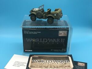 CORGI CC51708 WWII HEROES WC56 COMMAND CAR US ARMY 1/43 LIMITED EDITION 2003 VGC
