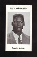 Abilene Christian Wildcats--1986-87 Basketball Pocket Schedule