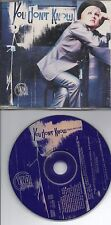 CYNDI LAUPER YOU DON T KNOW ME RARE EU PROMO CD