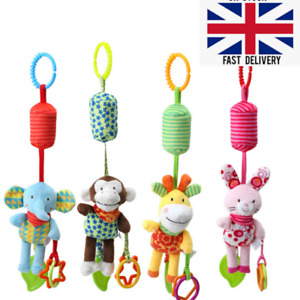 T22 Wind Chime Baby Buggy Hanging Rattles Stroller Car seat Activities Toys