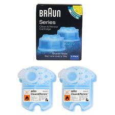 Braun CCR2 Cleaner Refill Kit/Clean $ Renew (2PK) CCR2MN /GENUINE