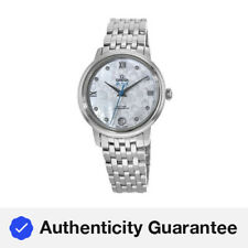 Nuevo Omega De Ville Prestige-axial 32.7mm Para Mujer Co Reloj 424.10.33.20.55.004
